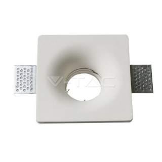 V-TAC VT-714 Portafaretto LED da Incasso Quadrato GU10 e GU5