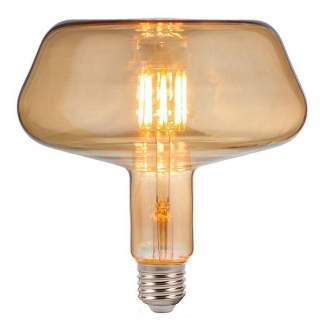 V-TAC VT-2308 Lampadina LED E27 8W T180 Filamento Ambrata lu