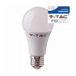 V-TAC PRO VT-212 Lampadina LED Chip Samsung E27 11W A+ A60 -