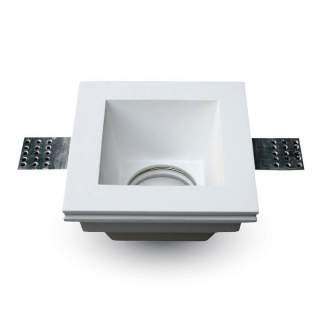 V-TAC VT-763 Portafaretto LED da Incasso Quadrato GU10 e GU5