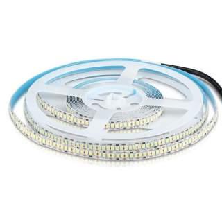 V-TAC VT-2835 Strip LED SMD2835 18W/mt 240 LED/mt 3000Lm/mt 12V striscia IP20 luce fredda
