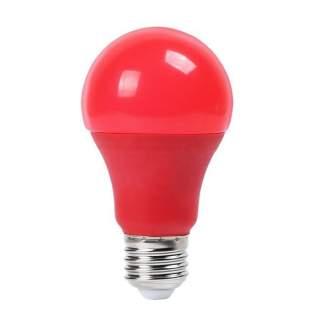 V-TAC VT-2000 Lampadina LED E27 9W A60 Colore Rosso - SKU 7341