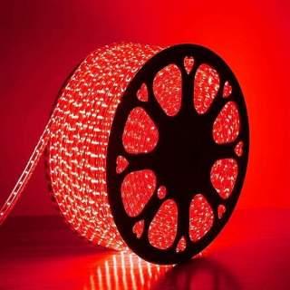 Strip led 3014 220v IP65 6w/m luce soffusa prezzo al metro luce rossa