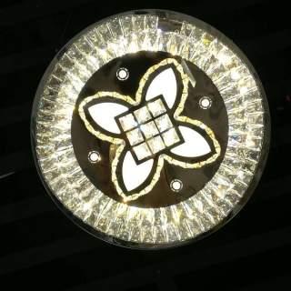 Lampadario moderno rotondo effetto mosaico 3in1 3000k-4000k-6000k