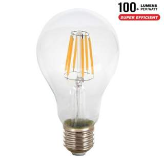V-TAC VT-1981 Lampadina LED E27 10W A67 Filamento 4000K - SKU 4411