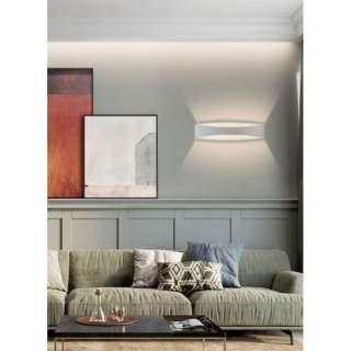 Applique a muro corpo bianco 12w luce naturale modello E59