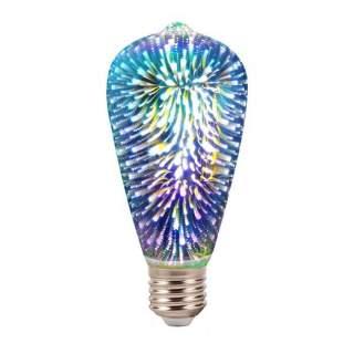 V-TAC VT-2223 Lampadina LED E27 5W ST64 Filamento 3D