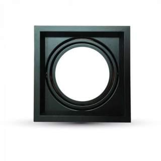 V-TAC VT-7221 Porta AR111 Singolo Colore Nero - SKU 35811