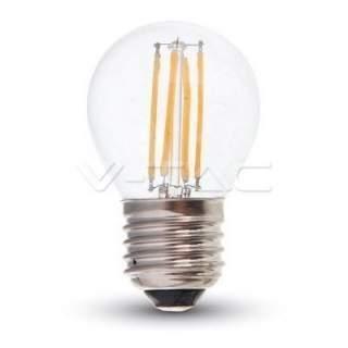 V-TAC VT-1980 Lampadina LED E27 4W G45 Filamento 3000K - SKU 4306