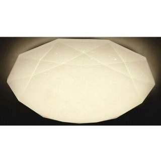 Plafoniera da interno a diamante effetto brillantinato 36w luce naturale