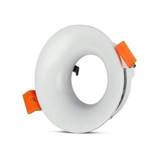 V-TAC VT-876 Portafaretto LED da Incasso GU10 Rotondo Colore Bianco - SKU 3169