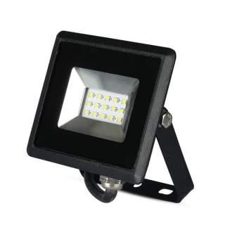 V-TAC VT-4011 Faro LED SMD 10W E-Series Colore Nero luce calda