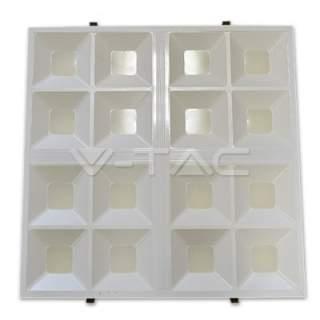 V-TAC VT-6066 Pannello LED 600*600mm ad Alveare 40W luce fre