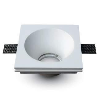 V-TAC VT-772 Portafaretto LED da Incasso Quadrato GU10 e GU5