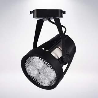 Faretto completo Par30 35w corpo nero luce naturale