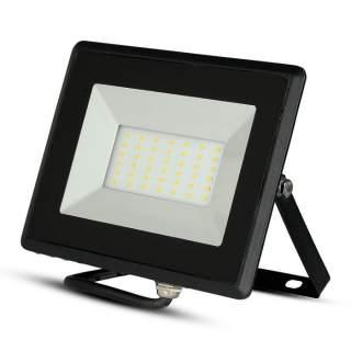 V-TAC VT-4031 Faro LED SMD 30W E-Series Colore Nero luce fredda