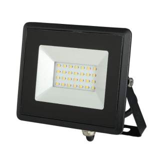 V-TAC VT-4021 Faro LED SMD 20W E-Series Colore Nero luce fredda